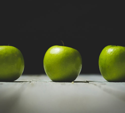 Fruits like apples can assist with keeping your mouth healthy